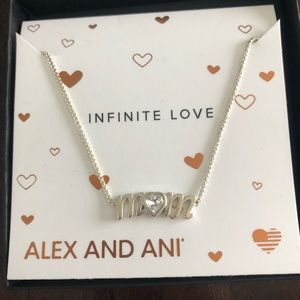 Alex and Ani Mom Necklace